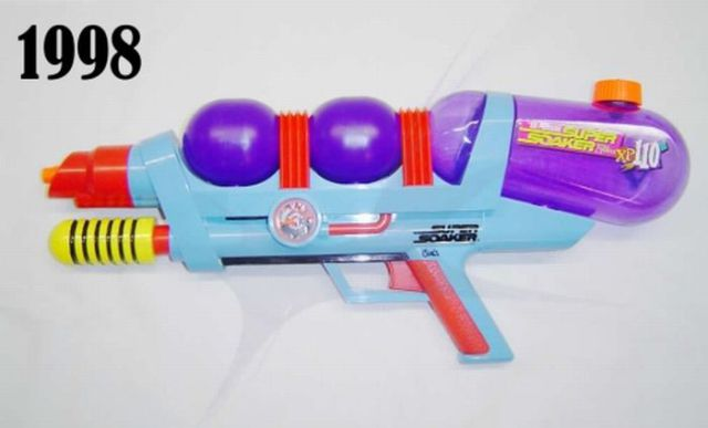 The Evolution of Super Soakers