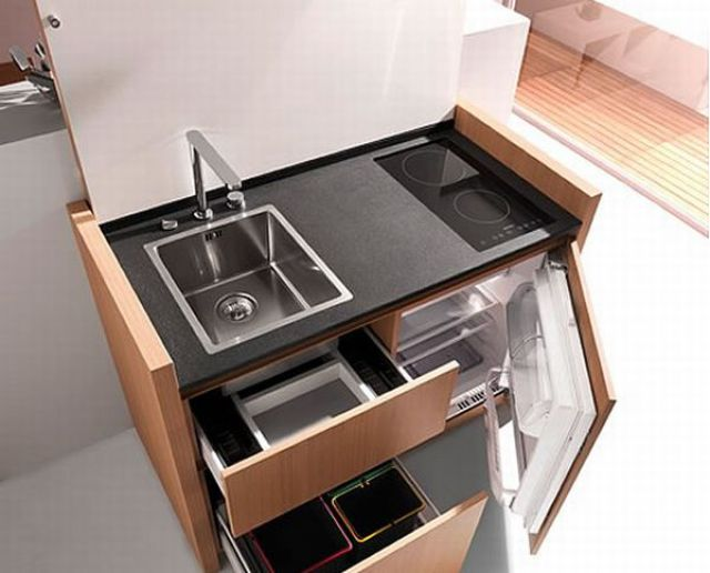Micro Kitchens for Tiny Apartments