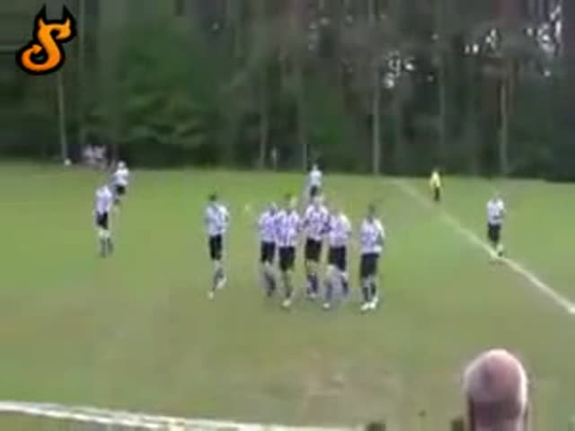 Epic Goal Celebration Fail