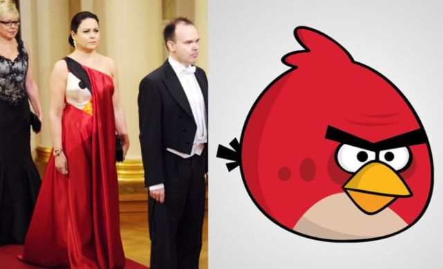 Ball Gown for the Wife of Angry Birds Maker