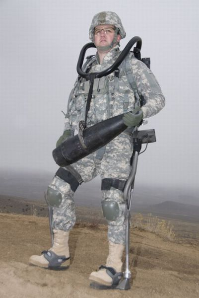 Anthropomorphic Exoskeleton for the Warfighter
