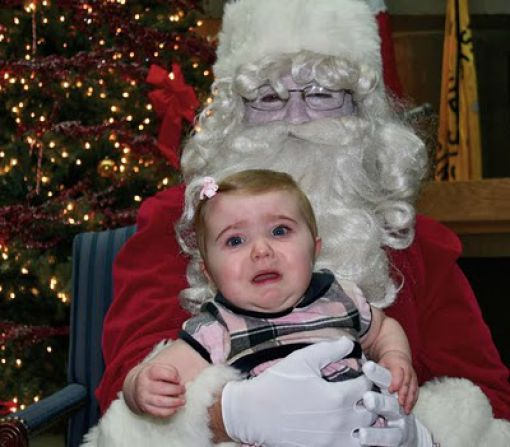 Santa Just Freaked Me Out