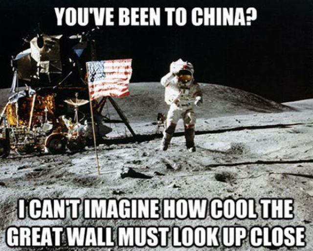"""The """"Unimpressed Astronaut"""""""