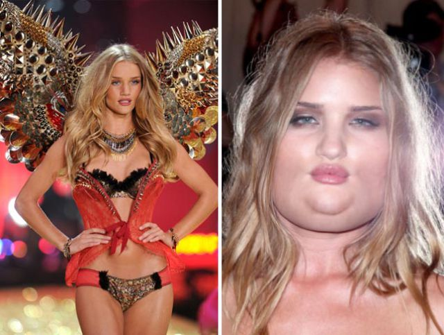 What If Victoria's Secret Models Weighed Another 100lbs?