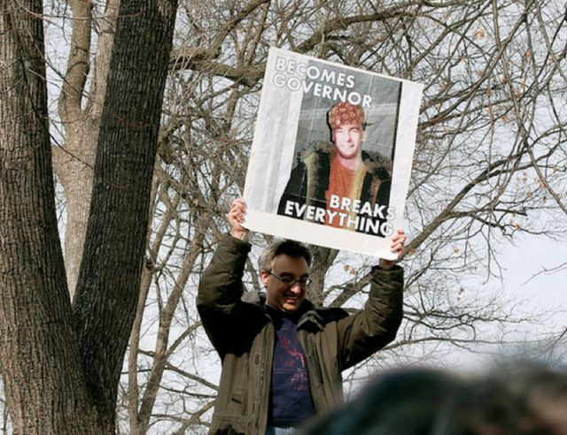 The Most Memorable Protest Signs of 2011