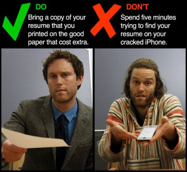 Preparing for a Job Interview
