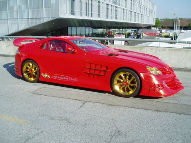 One Very Expensive Mercedes-Benz