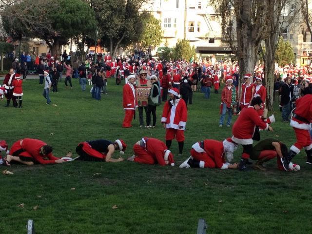 Drunk Santas
