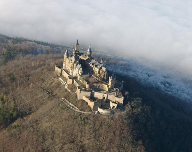 Beautiful Hohenzollern Castle