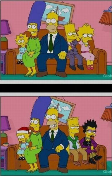 The Simpsons through the Years