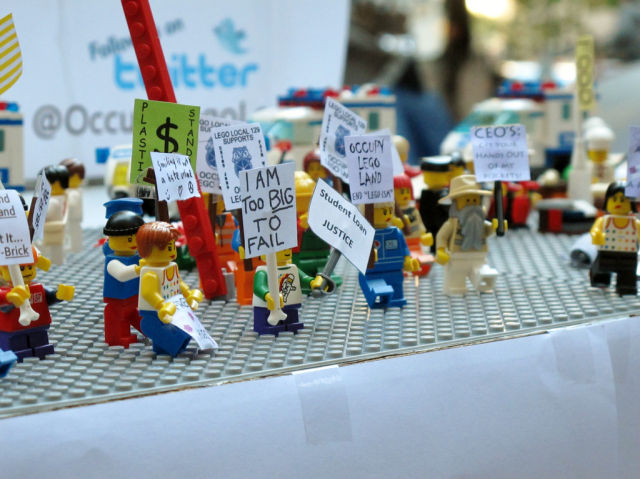 2011 News Reconstructed in Lego