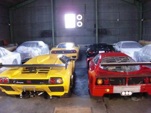 Crazy Private Supercar Collection in Japan