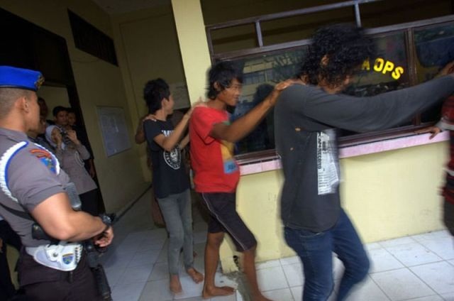Why Indonesian Punks Have a Hard Life