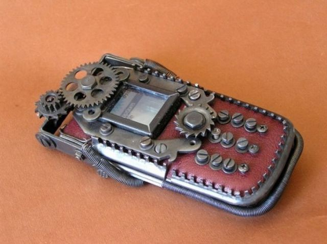 Awesome Steampunk Cell Phones
