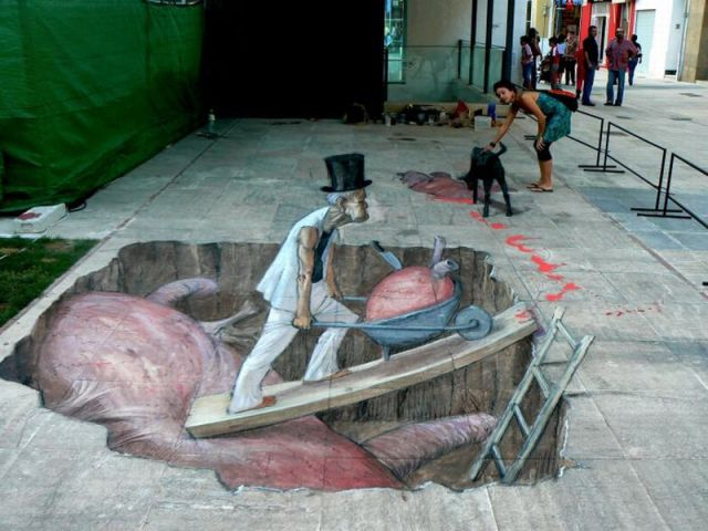 Street Art That Looks Incredible