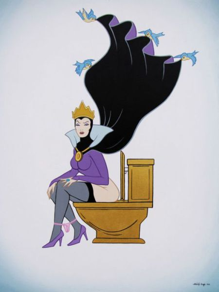 Disney Characters like You Have Never Seen Them