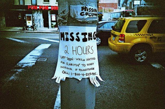 Bizarre Lost & Found Signs