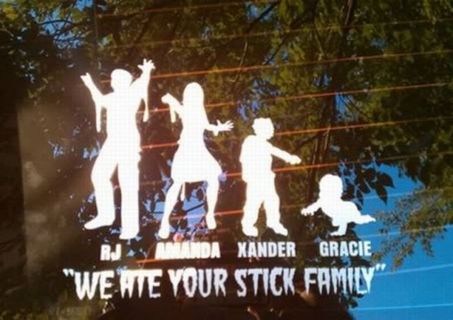 Creative Family Vehicle Stickers