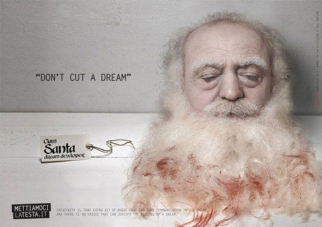Very Disturbing Print Advertising