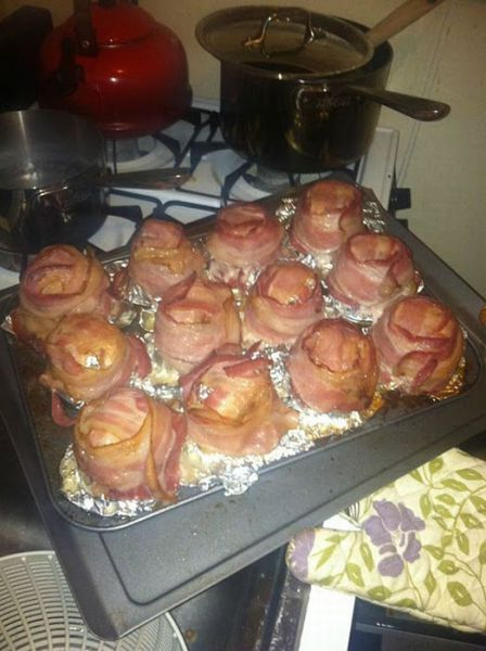 Yummy Bacon Cups