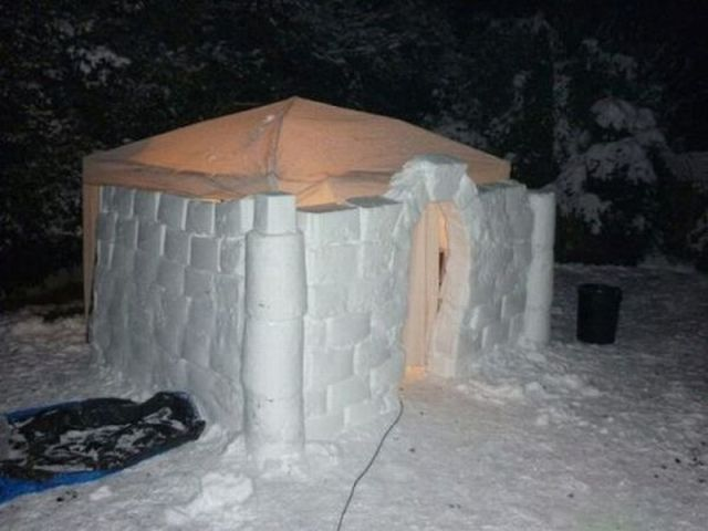 Awesome Snow Forts