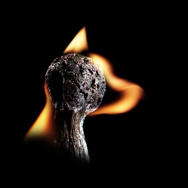 Creative Art Made by Burning Matches