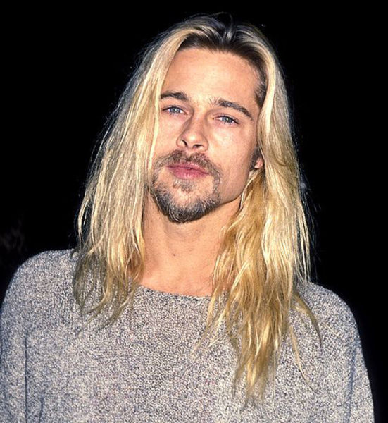 The Evolution Of Brad Pitt S Hair 20 Pics Picture 4
