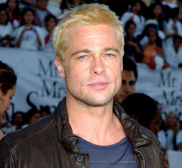 The Evolution of Brad Pitt's Hair