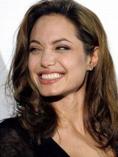Angelina Jolie's Funny Faces