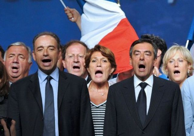 Politicians Caught at the Right Moment