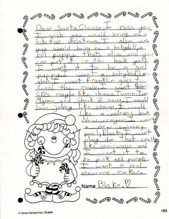 Funny letters to santa 25 pics izismile 1 funny letters to santa spiritdancerdesigns Gallery