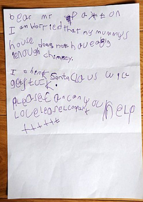 Funny Letters to Santa