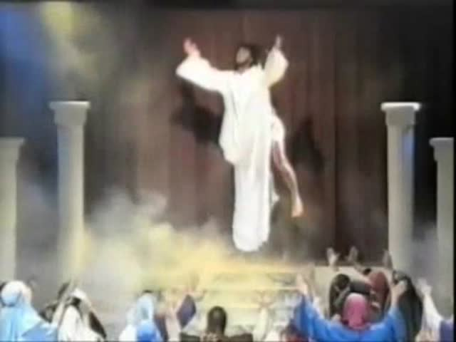 Jesus' Ascension Epic Fail