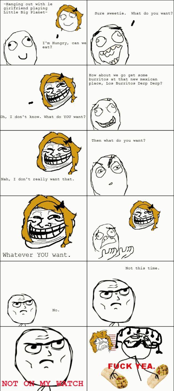 Girlfriend Rage Comic Stories