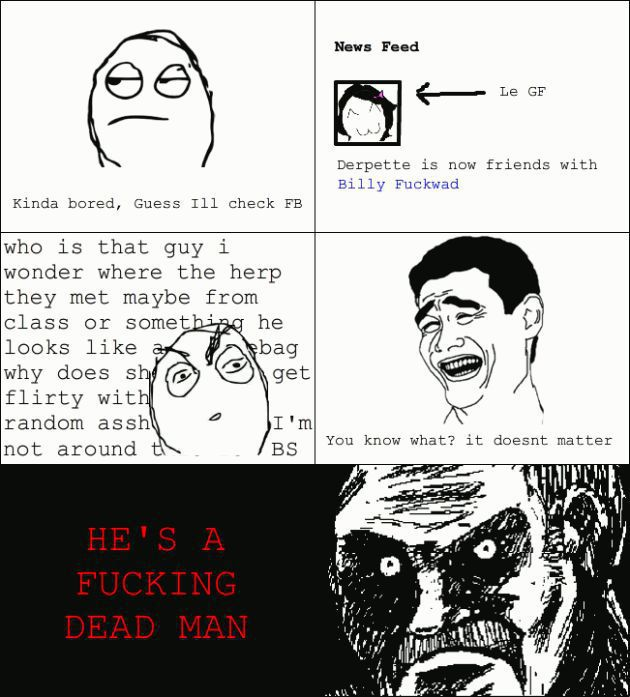 Girlfriend Rage Comic Stories