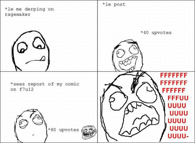 """Rage Faces"" Comics"