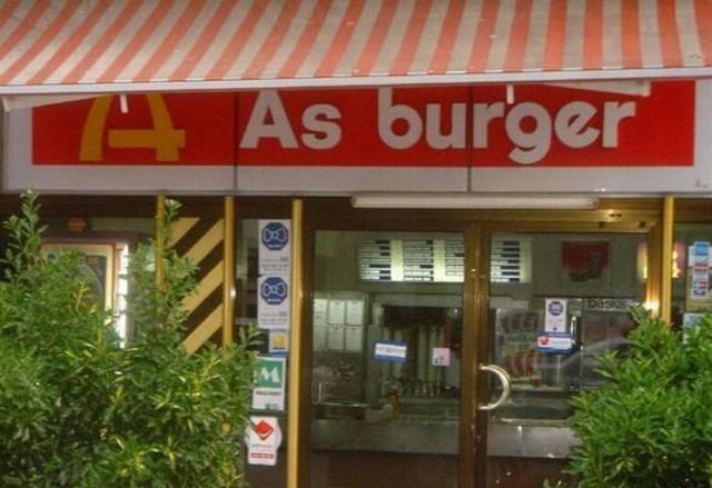 Fake McDonald's Around the World