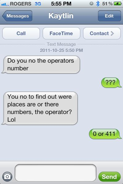 blonde on the operator txt fail