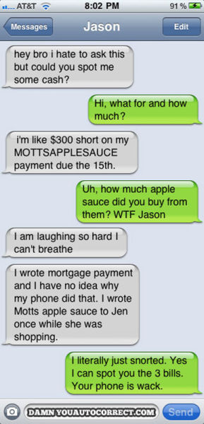 2011's Most Hilarious Autocorrects