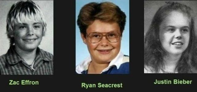 Yearbook Pictures of Famous People