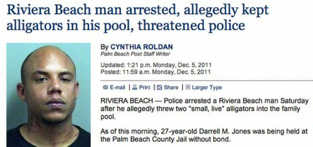 Crazy Florida Events of 2011