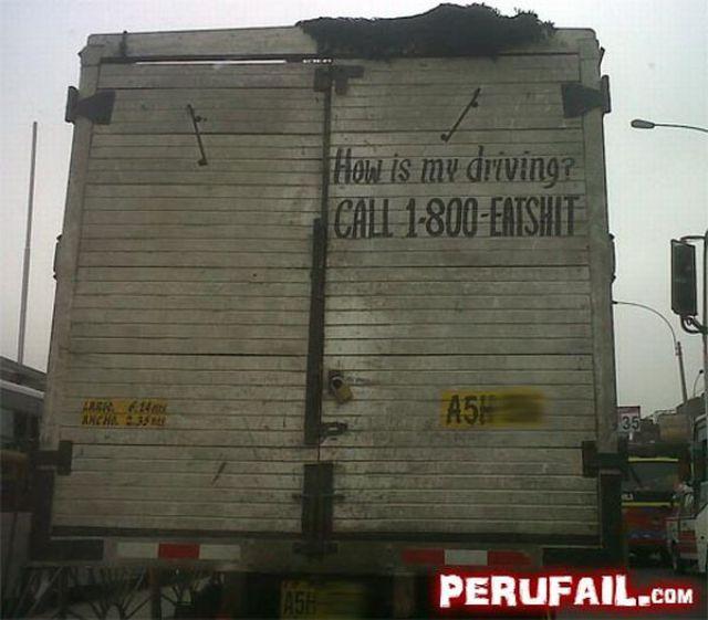 Meanwhile in Peru