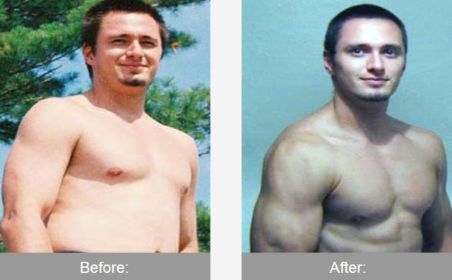 Before and After the Transformation