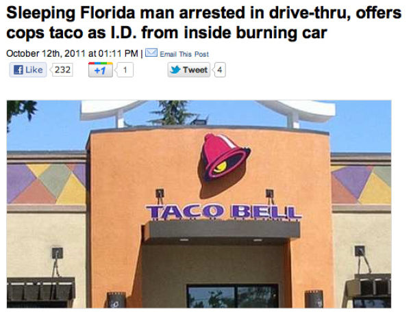 The Best Crimes That Involve Tacos