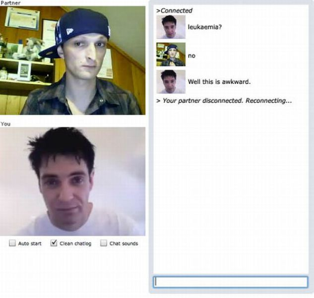 Awkward Moments on Chatroulette