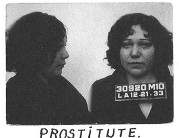 1940 Era Charges for Arrested Females
