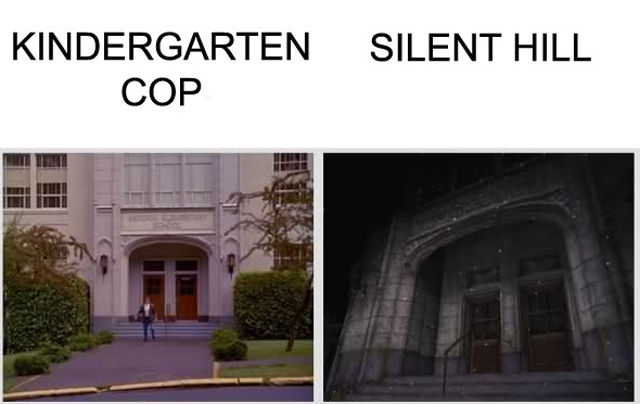 "The Kindergarten Cop and Silent Hill ""Coincidence"""
