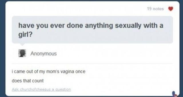 Funny Tumblr Responsies