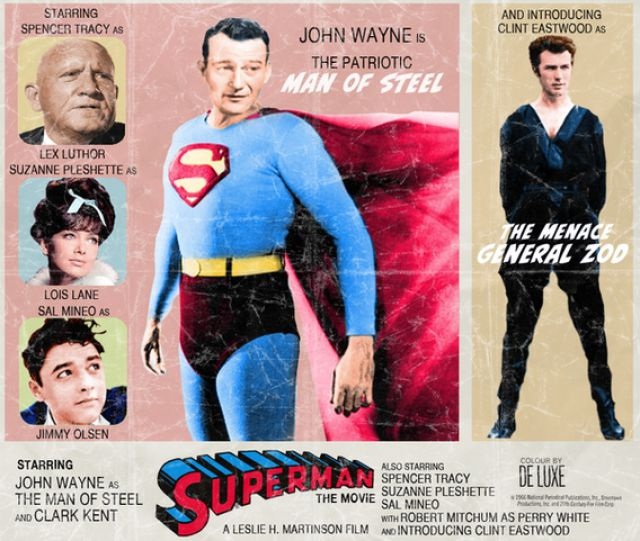 Present Day Movie Posters with a Vintage Twist