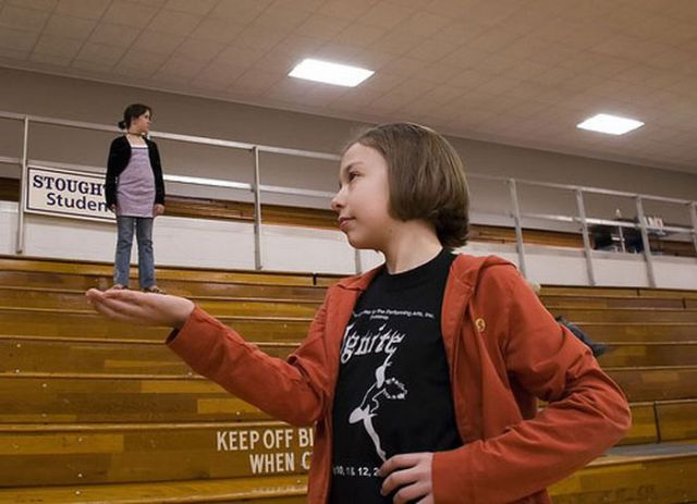 Incredible Forced Perspective Photos